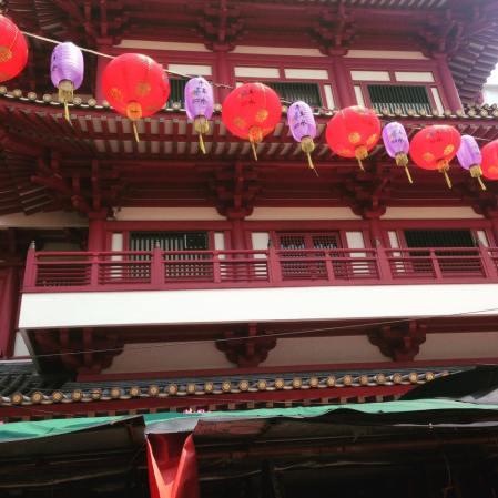 Chinatown, temple de la relique de la dent de Buddha