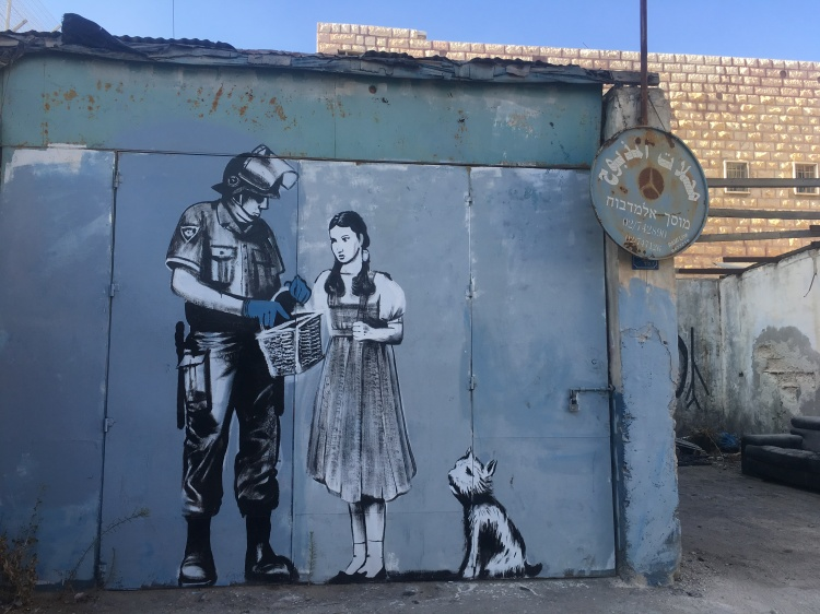 Banksy Bethléem wall
